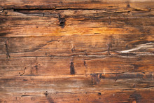 Horizontal Wooden Planks Of An...