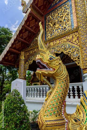 In de dag Bangkok Thailand temple