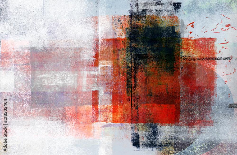 Fototapeta Contemporary Multimedia Abstract Background
