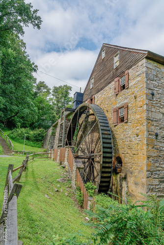 Photo  Rock Run Gristmill at Susquehana State Park Maryland