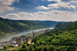 Panorama of the city of Oberwesel