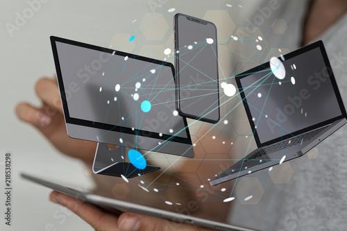 Fotografie, Obraz  computer application