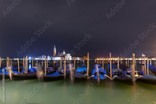 Fotografie, Obraz  Gondola Boats - Venice, Italy