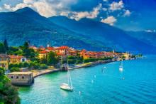 Cannobio Am Lago Maggiore, Italien