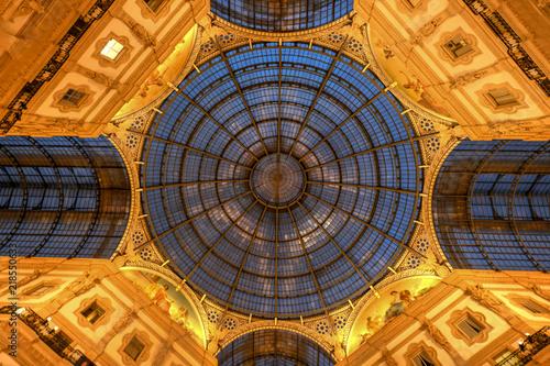 Vittorio Emanuele II Gallery - Milan, Italy Fototapeta