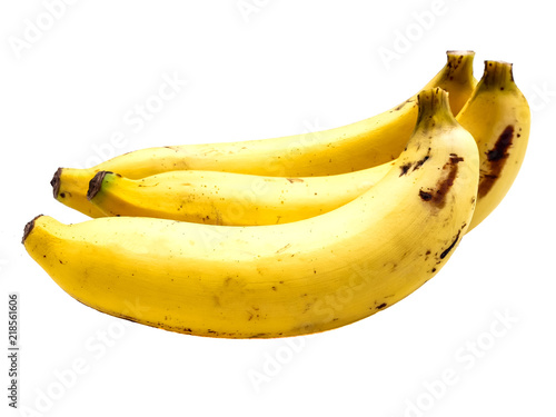 Fotografie, Tablou banana isolated on black background