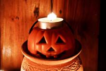 Halloween Pumpkin Head Jack Funny Holiday Season