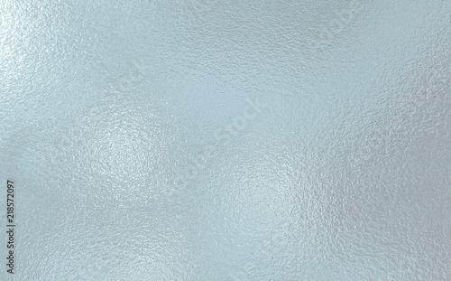 Obraz Light blue color frosted Glass texture background - fototapety do salonu