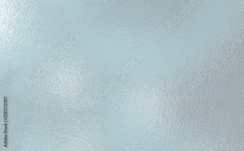 Fototapeta Light blue color frosted Glass texture background obraz