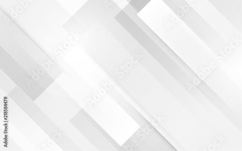 Abstract white square shape with futuristic concept background