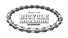 Bicycle Chain In The Form Of A...