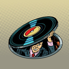 Man Under Vinyl. Music And Audio