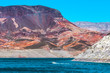 Colorful Cliffs at Lake Mead