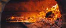 Pizza In The Oven, Panoramic View
