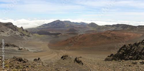 Fotografie, Obraz  A View of Haleakala National Park, Maui, Hawaii