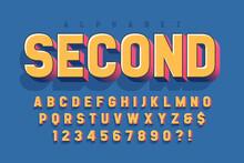 Original 3d Display Font Desig...