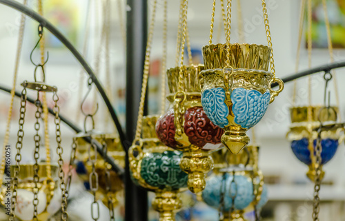 Valokuva  Censers exposed for sale