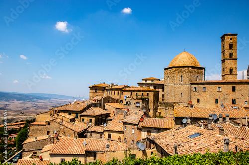 Fotografía View of Volterra