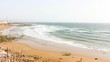 Panoramic View of a Moroccan Beach
