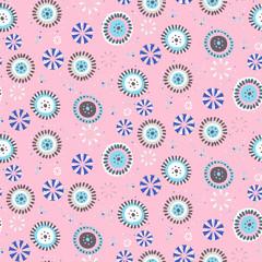 Polka dot vector background. Seamless vector pattern