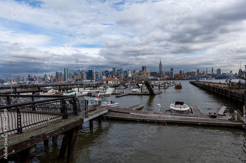 Cuadros en Lienzo superstorm Sandy damage New York, after Hurricane