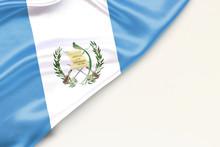 Flag Of Guatemala: White Backg...