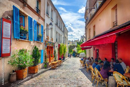 Fényképezés Street in Paris