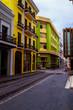 Colorful Street of San Juan Puerto Rico