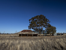 An Abandoned House In Outback Australia
