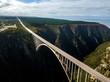 canvas print picture - Bloukrans Bridge