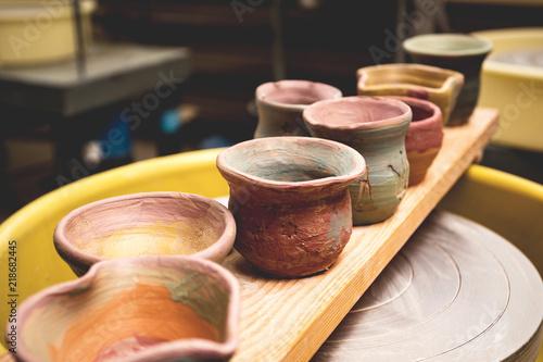 a clay pots