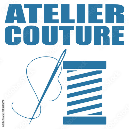 Photo Atelier couture.