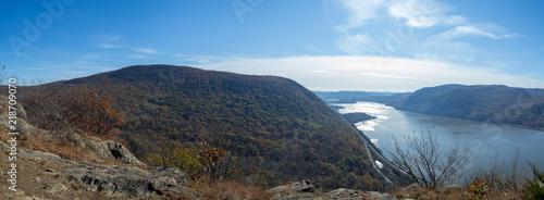 Fototapeta Hudson river from Breakneck Ridge obraz