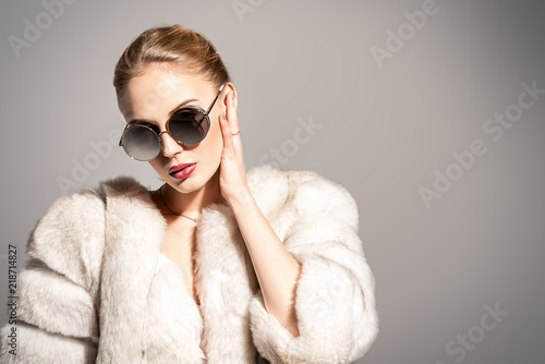 luxurious fur coat