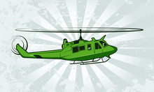 Utility Military Helicopter