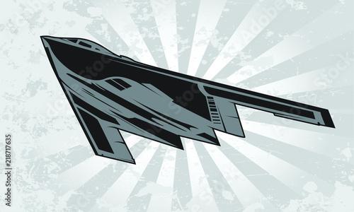 Photo  Strategic Stealth Bomber