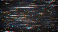 Digital Pixel Glitch Noise Bac...