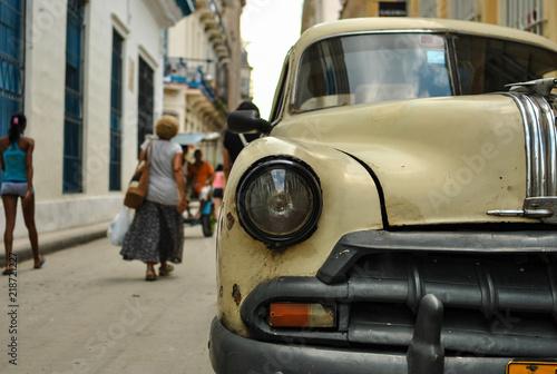 Poster de jardin Havana A normal day in the havana Cuba