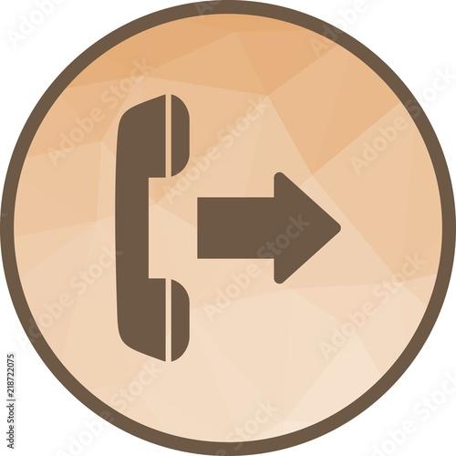 Fotografia, Obraz  Outgoing Call Icon