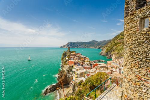 Fototapety, obrazy: Cinque Terre, Italy. Vernazza