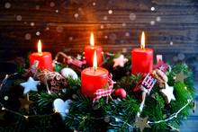 Adventskranz - Weihnachtsstimm...