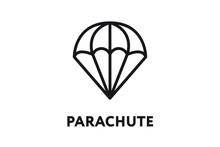 Parachute Air Landing Skydivin...