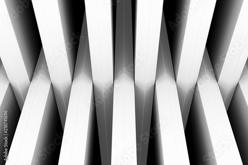 czarno-bia-e-crosshair-abstrakcyjne-t-o-gor-3d-ilustracji