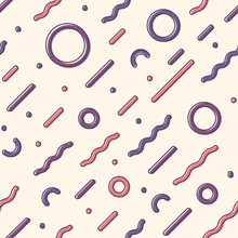 Diagonal Seamless Pattern With...