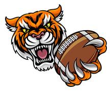 Tiger Holding American Footbal...