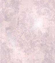 Vintage Baroque Pattern Vector. Beautiful Ornament Decor. Royal Luxury Texture Backgrounds. Pink Lavender Colors
