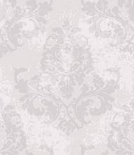 Vintage Baroque Pattern Vector...
