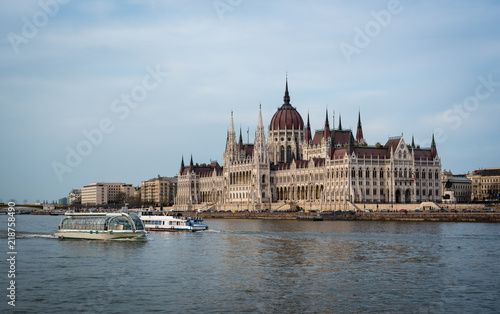 Spoed Foto op Canvas Boedapest Parliament of Budapest, Hungary