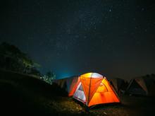 Night Sky, Doi Samer Dao, Nan Province, Thailand