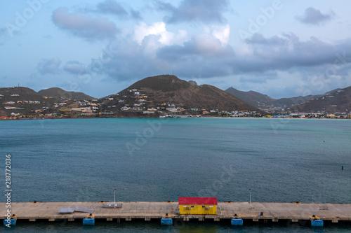 Foto op Aluminium Oceanië Mountains of St Thomas